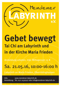 Plakat_A3_Gebet_bewegt_Mendener Labyrinth