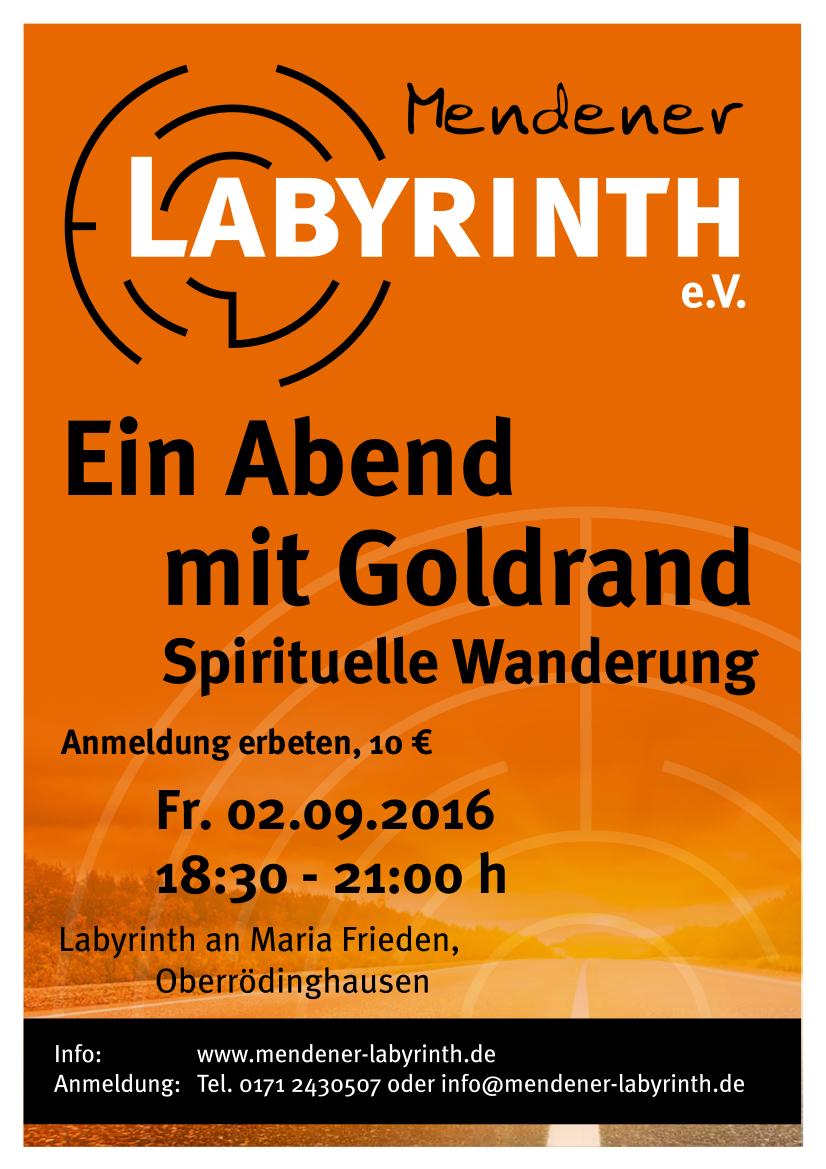 Plakat_A4_Spirituelle_Wanderung_Mendener Labyrinth